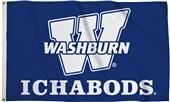 Collegiate Washburn 3' x 5' Flags