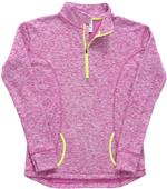 J America Ladies Cosmic Fleece 1/4 Zip Jacket