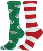 Red Lion Season Greetings Snowflake Athletic Socks