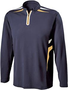 Holloway Wrath Performance Pique Long Sleeve Shirt