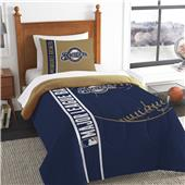 MLB Brewers Printed Twin Comforter & Sham Set