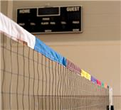 Tandem Net Zone Volleyball System