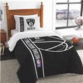 NBA Nets Printed Twin Comforter & Sham Set