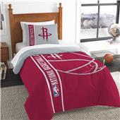 NBA Rockets Printed Twin Comforter & Sham Set