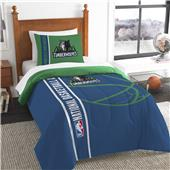 NBA Timberwolves Printed Twin Comforter & Sham Set