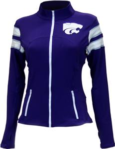 Twin Vision K-State Womens Yoga Jacket