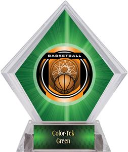 Awards Legacy Basketball Green Diamond Ice Trophy