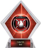 Awards Legacy Baseball Red Diamond Ice Trophy