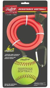 Rawlings Worth Resistance Band with Softball