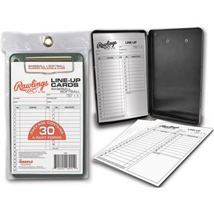 Rawlings Baseball Line-Up Card Case (30 cards)