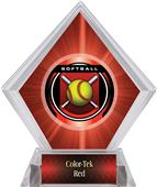Awards Legacy Softball Red Diamond Ice Trophy