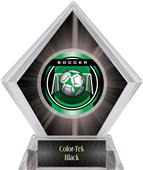 Awards Legacy Soccer Black Diamond Ice Trophy