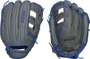 Wilson A500 YP66 Jr Outfield Glove - 12.5""