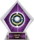 Awards Saturn Volleyball Purple Diamond Ice Trophy