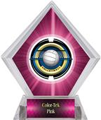 Awards Saturn Volleyball Pink Diamond Ice Trophy