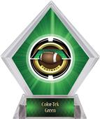 Awards Saturn Football Green Diamond Ice Trophy