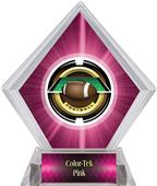 Awards Saturn Football Pink Diamond Ice Trophy