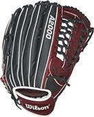 "Wilson A2000 135 Slowpitch Infield Glove - 13.5"""