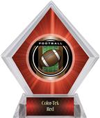 Awards Legacy Football Red Diamond Ice Trophy