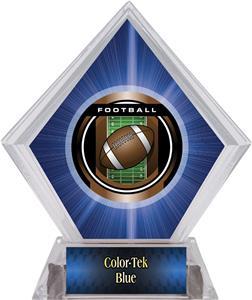 Awards Legacy Football Blue Diamond Ice Trophy