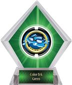 Awards Saturn Swimming Green Diamond Ice Trophy