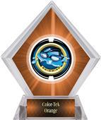 Awards Saturn Swimming Orange Diamond Ice Trophy