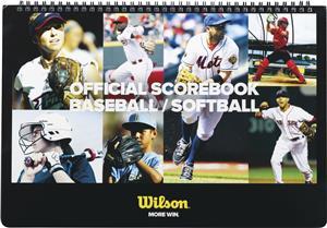 Wilson Baseball/Softball Spiral Scorebook