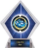 Awards Saturn Swimming Blue Diamond Ice Trophy
