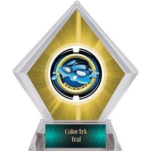 Awards Saturn Swimming Yellow Diamond Ice Trophy