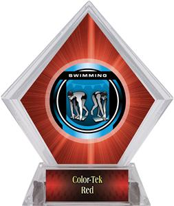 Awards Legacy Swimming Red Diamond Ice Trophy