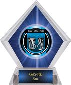 Awards Legacy Swimming Blue Diamond Ice Trophy