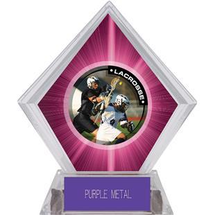 Hasty Awards Pink Diamond Lacrosse Ice Trophy