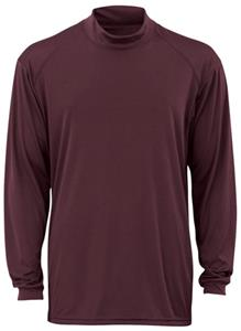 Badger B-Core L/S Mock Neck Performance Shirts
