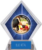 Awards P.R.2 Softball Blue Diamond Ice Trophy