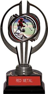 "Black Hurricane 7"" P.R.1 Baseball Trophy"
