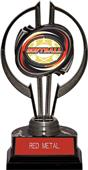 "Black Hurricane 7"" Classic Softball Trophy"