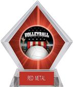 Award Patriot Volleyball Red Diamond Ice Trophy