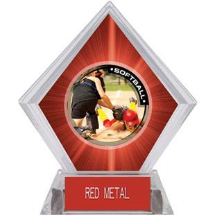 Awards P.R.2 Softball Red Diamond Ice Trophy