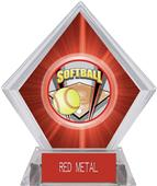Awards ProSport Softball Red Diamond Ice Trophy