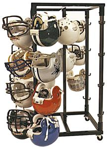 Kelpro Rolling Football Helmet Racks