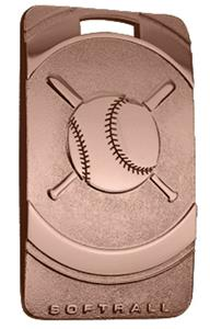 """Hasty Awards Softball 3"""" Legacy Medals"""