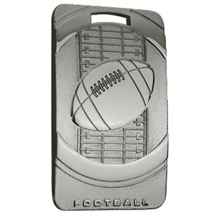 """Hasty Awards Football 3"""" Legacy Medals"""