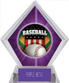 Awards Patriot Baseball Purple Diamond Ice Trophy
