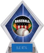 Awards Patriot Baseball Blue Diamond Ice Trophy