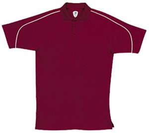 Badger Performance Piped Polo Shirts