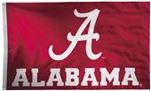 Collegiate Alabama 2-Sided Nylon 3'x5' Flag