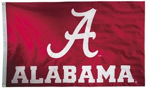 Collegiate Alabama 2-Sided Nylon 3'x5' Flag