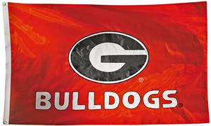 Collegiate Georgia 2-Sided Nylon 3'x5' Flag