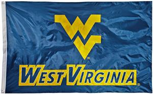 Collegiate West Virginia 2-Sided Nylon 3'x5' Flag