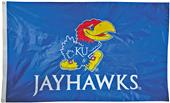Collegiate Kansas 2-Sided Nylon 3'x5' Flag